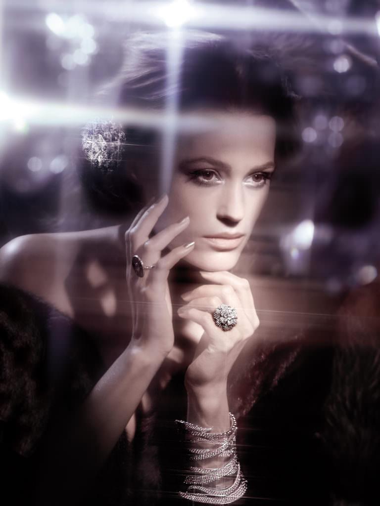 Yasmine Le Bon by Ali Mahdavi